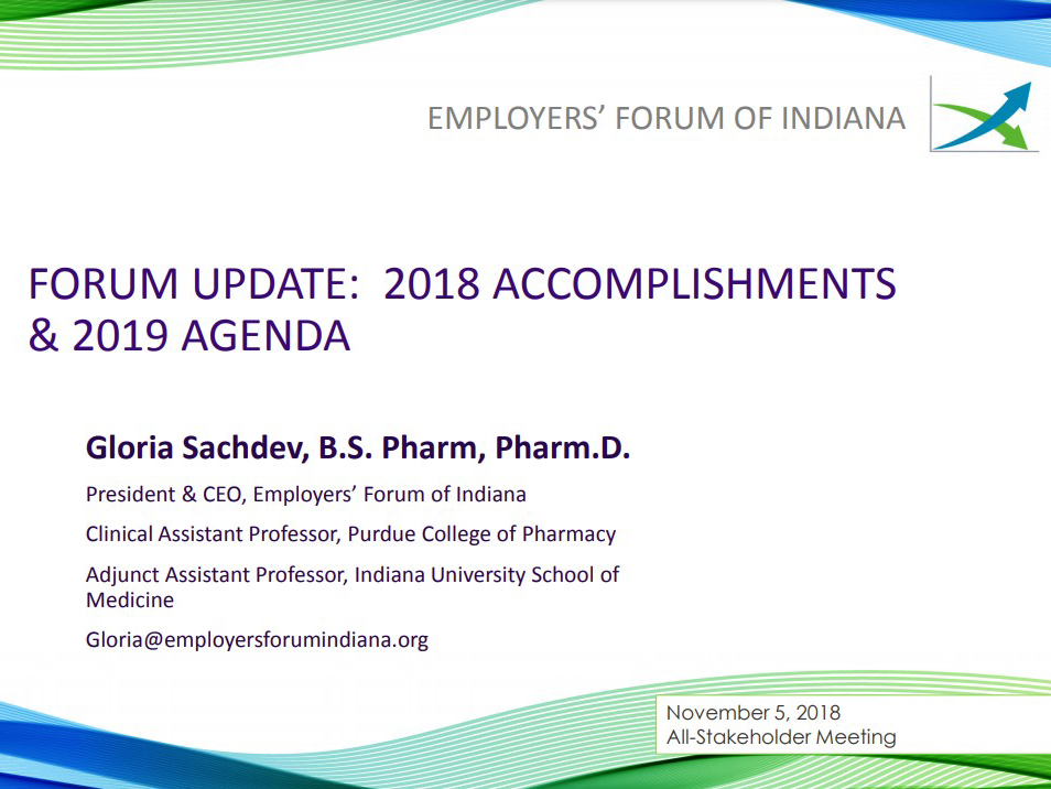 Employers' Forum of Indiana 2018 Year in Review presentation