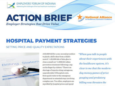 action brief hospital payment strategies page 1