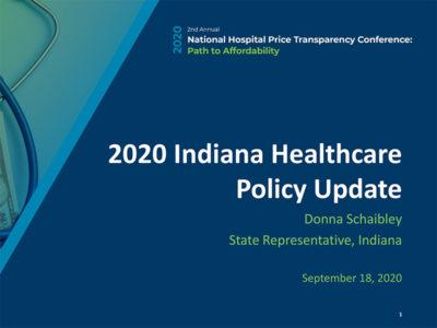 2020 Legislative Update by Donna Schaibley presentation title slide