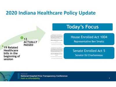 2020 Legislative Update by Donna Schaibley presentation slide