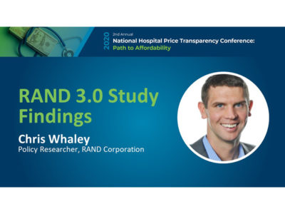 RAND 3.0 Study Findings presentation title slide by Chris Whaley