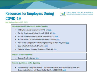 Resources for Employers During COVID-19 page 1