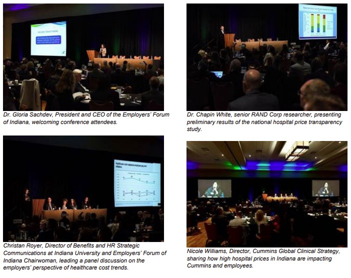 photo collage of speakers from the National Hospital Price Transparency Conference 2019