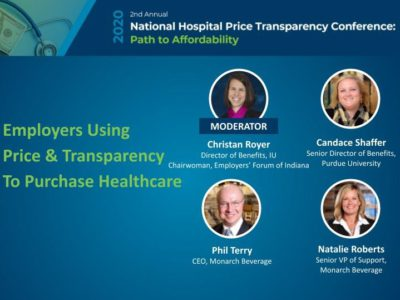 Employers Using Price Transparency Panel title slide