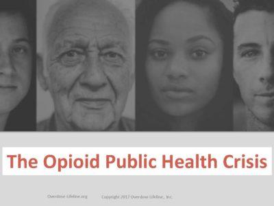 Opioid Solutions by Overdose Lifeline Inc presentation title slide
