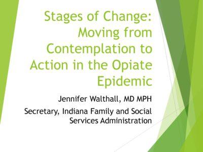 Opioids Solutions by FSSA presentation title slide