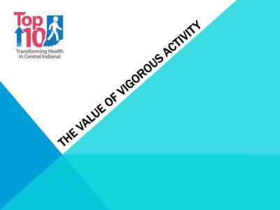 Vigorous Activity presentation title slide