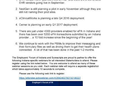 ePA Update by Gloria Sachdev presentation title slide