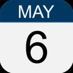May 6 calendar page