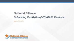 Debunking the Myth of COVID-19 Vaccines Cover Page