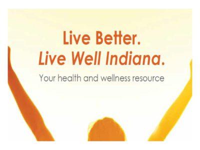 Live Well Indiana presentation title slide